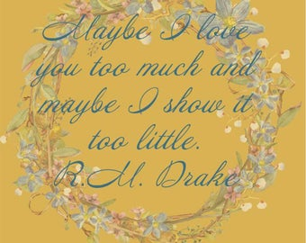 RM Drake Quote *INSTANT DOWNLOAD*