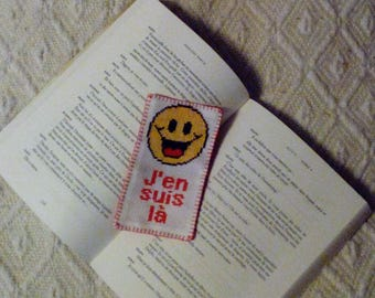 "emoji smiley bookmark ""jen'm here"""