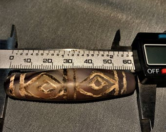 ancient 4 eyes beads