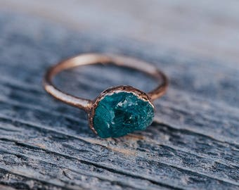 Alternative Engagement Ring | Raw Stone Engagement Ring | Unique Engagement  Ring | Bohemian Wedding Rings
