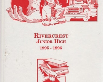 Rivercrest Junior High 1995-1996 Yearbook South Mississippi