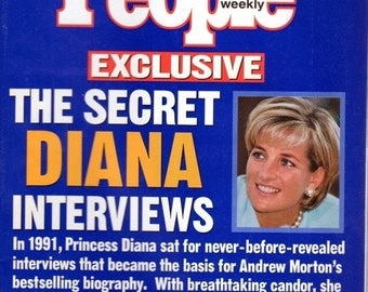 People Magazine October 23, 1997 The Secret Diana Interviews