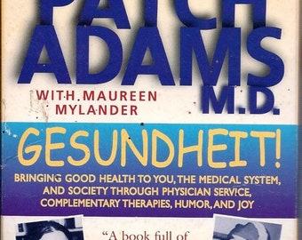 Patch Adams M.D. Audio Tapes With Maureen Mylander Gesundheit 1998