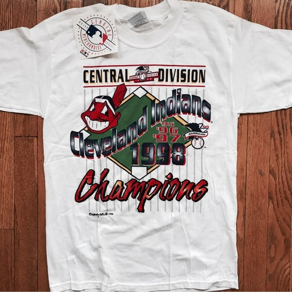 NWT Cleveland Indians deadstock 1998 T-Shirt