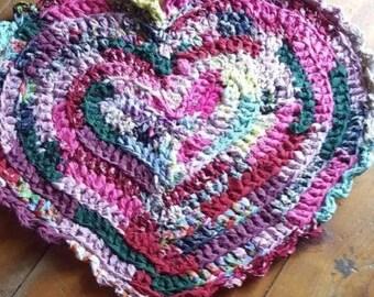 Cotton Rag Rug | Etsy