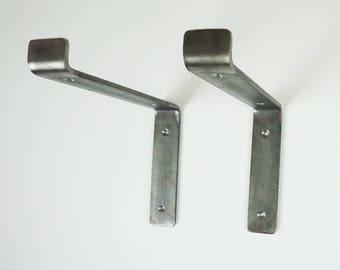 Heavy Duty Scaffolding Board Shelf Brackets (225mm width) - Industrial Rustic Handmade Style