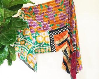 Sara | Handmade India Kantha Quilt