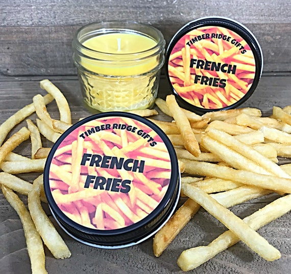 French Fries - French Fry - French Fry Gift - Food Scented Candle - Food Candle - Food Scented - Food Lover - Food Lover Gifts