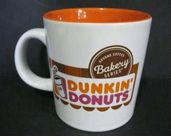 vintage dunkin donuts mug large coffee shop mug donut shop mug - Donut Shop Coffee