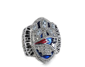 New England Patriots Super Bowl LI 2016 2017 Ring  SZ 9-13 Tom Brady