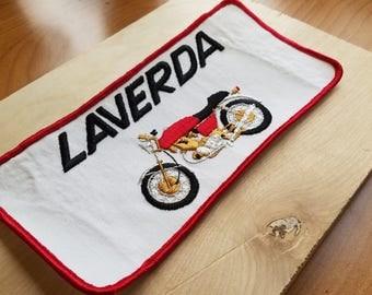 Laverda 1970s Vintage Motorcycle Patch