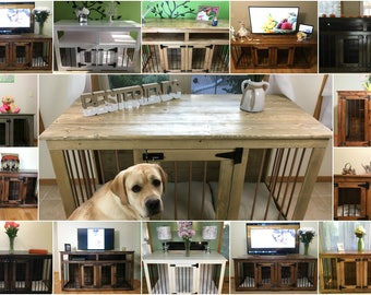 Your Dog Kennel Colors (#1 In Etsy)/ Double Dog Kennel / Custom