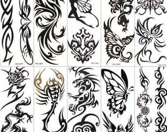 Temporary tattoos at home