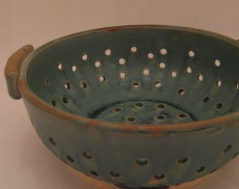 Wheel Thrown Pottery Colander