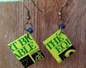 Fair green tea earrings