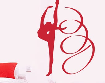"""""""The Ribbon dancer"""" decal"""