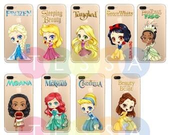 Cute Disney Chibi Custom Made Phone Case