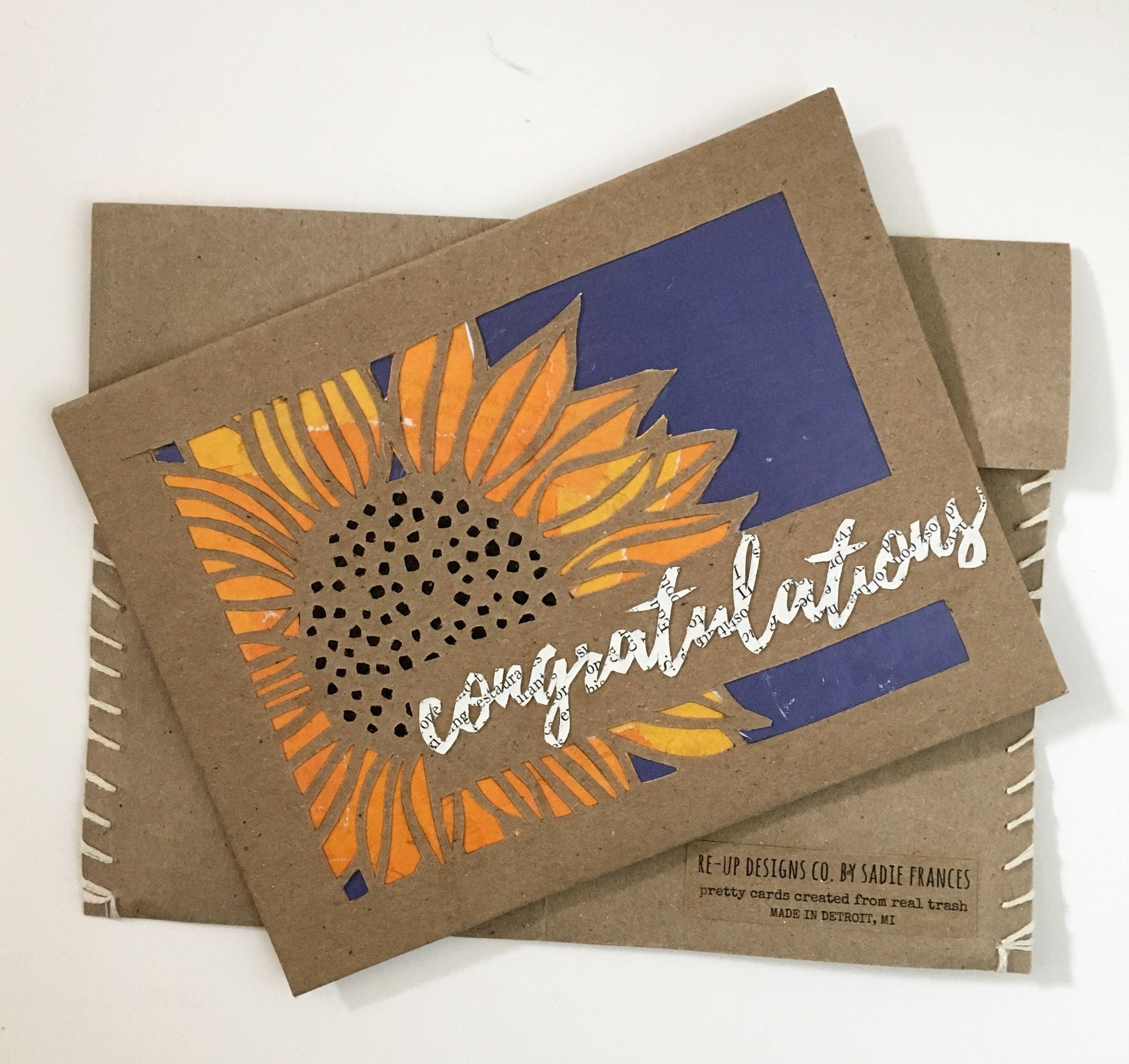 Congratulations Wedding Card Handmade Greeting Cards Fall Wedding ...