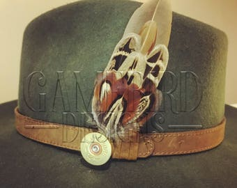 Small Pheasant Feather Hat Pin or Button Hole