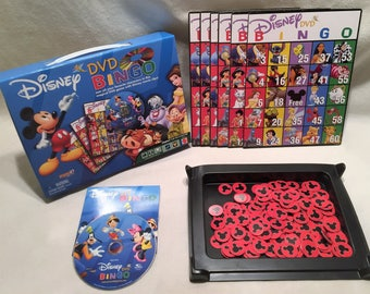 Disney DVD Bingo Game With Complete in Great Condition FREE SHIPPING