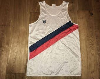 Reebok Tank Top / Singlet Sleeveless made in Ireland - 90s Vintage Retro - Running - Basketball