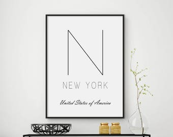 Sale!!! New York City, New York, NYC print, Poster NYC, NYC print, nyc art, City Prints, New York print, New York poster