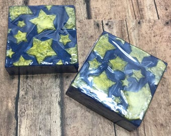 Star Soap, Stormy Nights, Stocking Stuffer, Holiday Soap, Party Favor, Gifts Under 10, Gifts For Her, Gifts For Him, Kids Soap, Bar Soap