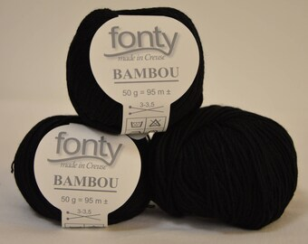 "Black bamboo Fonty ""Bamboo"" color"