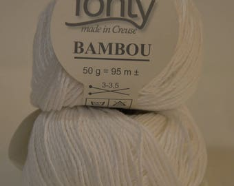 """Bamboo Fonty """"Bamboo"""" color-white"""