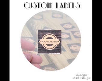 Custom Label Stickers. Shop labels. Sticker labels. Slime shop label stickers. Slime labels. Shop supplies.