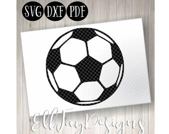 Soccer Ball SVG, Soccer ball monogram, Soccer, Soccer Monogram svg, soccer ball, soccer circle mongram, silhouette, soccer silhouette svg