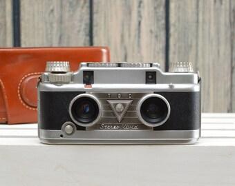 Bell & Howell TDC Stereo Vivid Rangefinder Film Camera