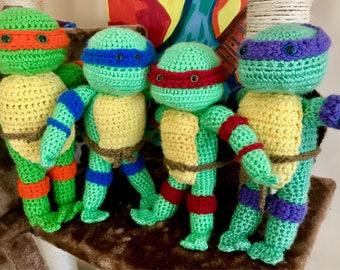 Ninja Turtle Amigurumi!