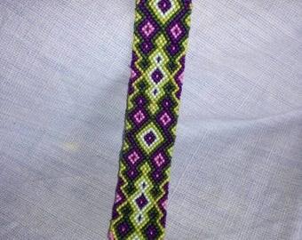 Braided bracelet,Friendship bracelet,Handwoven bracelet, Knotted bracelet, String bracelet,Bracelet bresilien, Summer bracelet, Bohemian