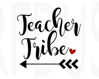 Teacher tribe svg, hashtag teacherlife svg, teacher svg, teacherlife svg, student life svg, cricut cutting, diy teacher shirt, teacher team