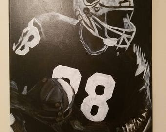 Discounted-football player-canvas painting