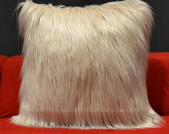 Fur Pillow (Imitation)