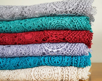 Lace Fabric material - Best quality textile-garment