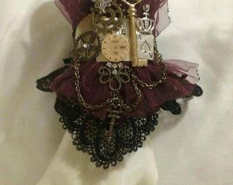 Gothic Dark Wonderland Wrist Cuff