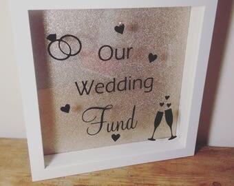 Saving/Money box frame - wedding