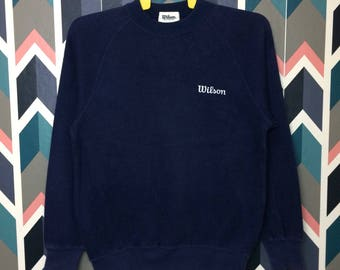 Free Shipping vintage WILSON crewneck