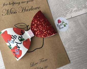 Personalised Teacher Bow