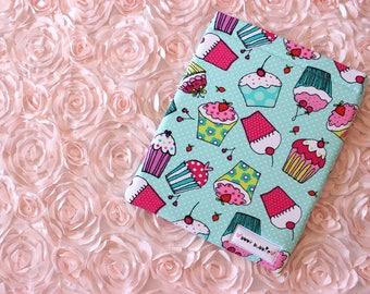 Hardcover Cupcake Book Sleeve