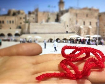1+1 gift KABBALAH red string from the evil eye