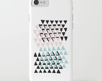 Geometric Phone Case, Slim Case, Tough Case, iPhone Case, iPhone 7 case, iPhone 6s case, iPhone 6 case, iPhone 7 plus case