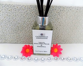 Perfume Scented Home Reed Diffuser Oil- Various Scents-Room Fragrance