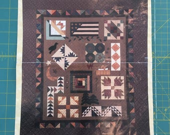 Vintage Quilt Pattern-Piecing the Trail to Kansas-A Quilter's Journal by Kansas Troubles Quilters
