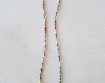 Colorful Navajo Pearls Necklace
