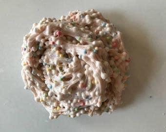 Rainbow stuffed cake batter