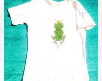 Frog Prince with dragonfly